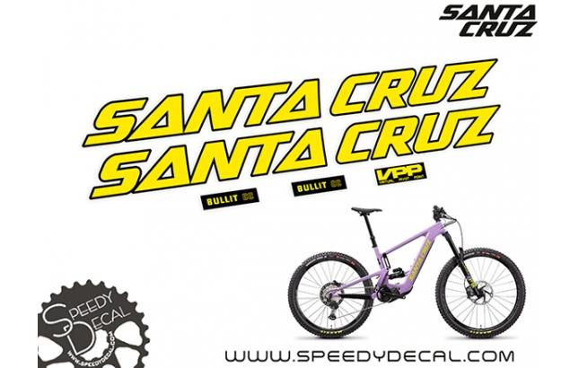 Santa Cruz Bullit CC 2021 - kit adesivi telaio