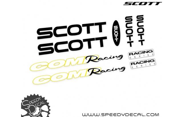 Scott Comp Racing Vintage - kit adesivi telaio