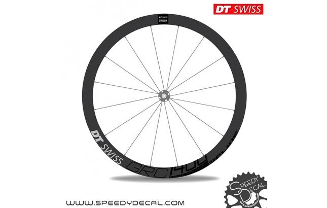 DT Swiss Grc1400 42mm Dicut Disc - adesivi per ruote