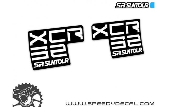 Sr Suntour Xcr 32 - adesivi per forcella