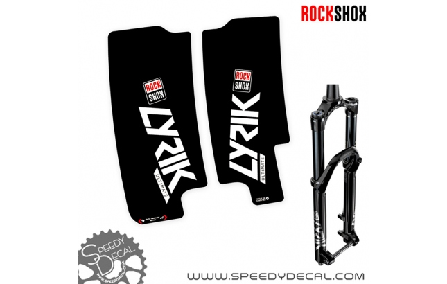 Rock shox Lyrik RC2 Ultimate / Select / Select+ anno 2020 - adesivi per forcella