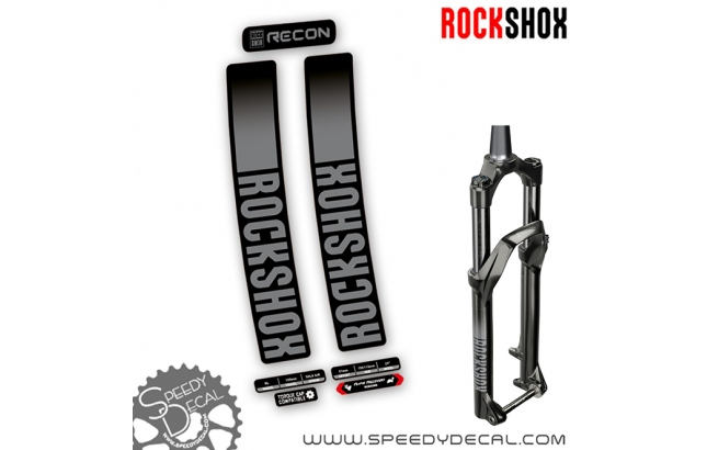 Rock shox Recon 2021 - adesivi per forcella