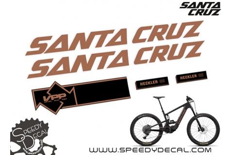 Santa Cruz Heckler CC 2021  - kit adesivi telaio