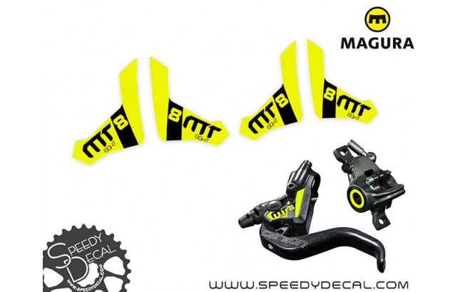 Magura Brake MT8 2021 - adesivi per freni