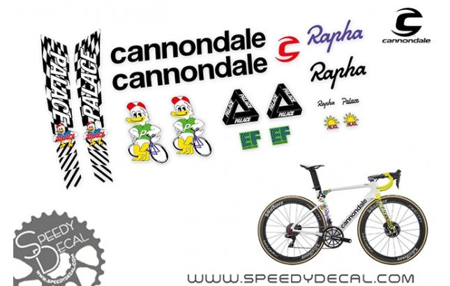 Cannondale Supersix EF Pro Cycling Giro d'italia  2020 - kit adesivi per telaio