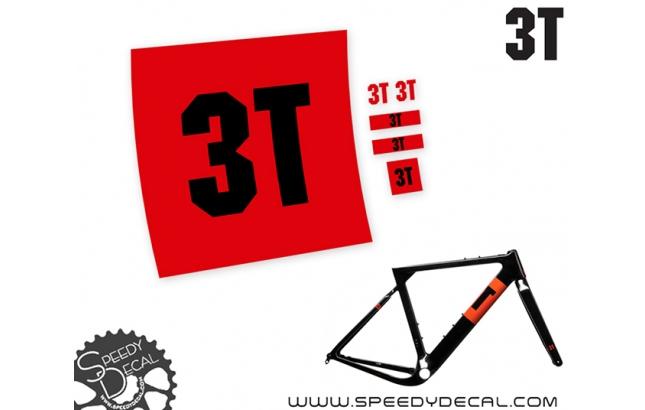 3T Exploro - adesivi per telaio