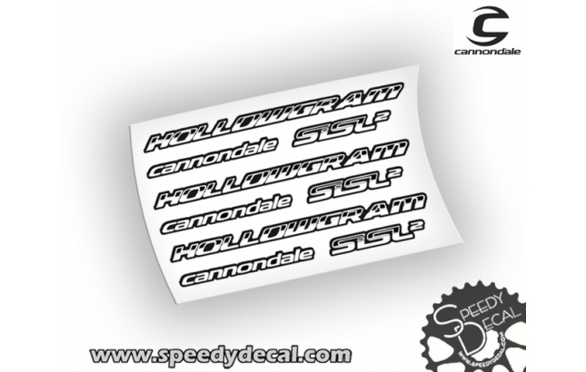 Cannondale Hollowgram Sisl2 - adesivi per pedivelle