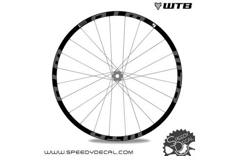 WTB Kom Light i45 27.5 - adesivi per ruote