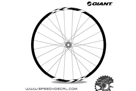 Giant XCT 2020 - adesivi per ruote