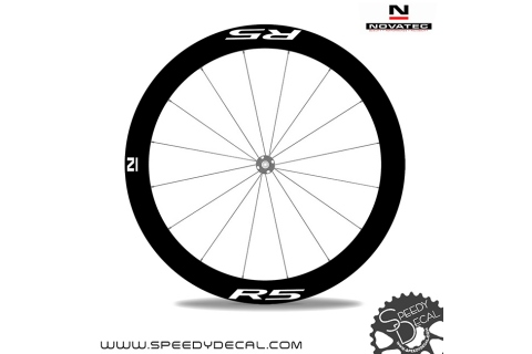 Novatec R5 disc 2021- adesivi per ruote