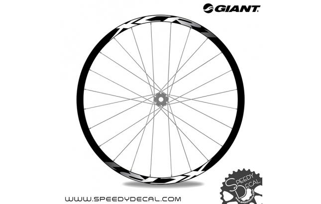 Giant XCR1 2020 - adesivi per ruote