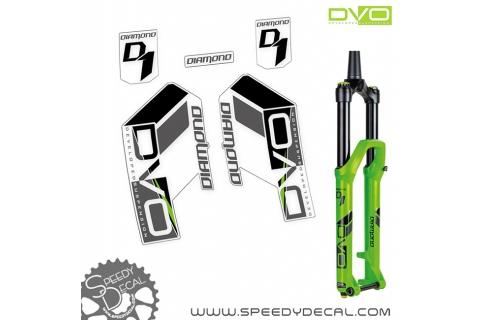 DVO DIAMOND D1 - adesivi per forcella