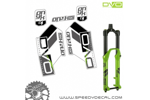 DVO ONYX SC D1 - adesivi per forcella