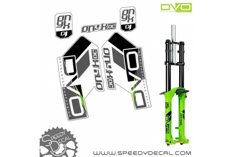 DVO ONYX DC D1 - adesivi per forcella