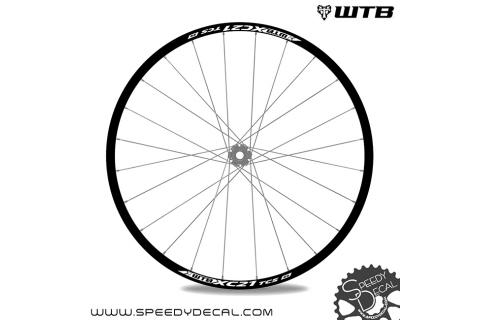 WTB XC i25 - adesivi per ruote