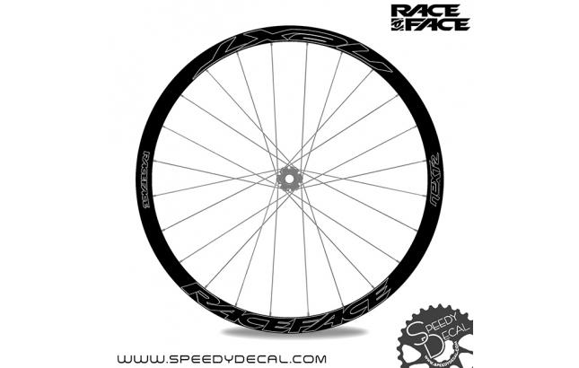 Race Face Next R36  - adesivi personalizzati per ruote