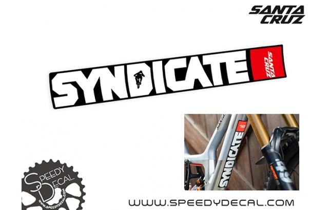 Santa Cruz Syndicate - kit adesivi telaio