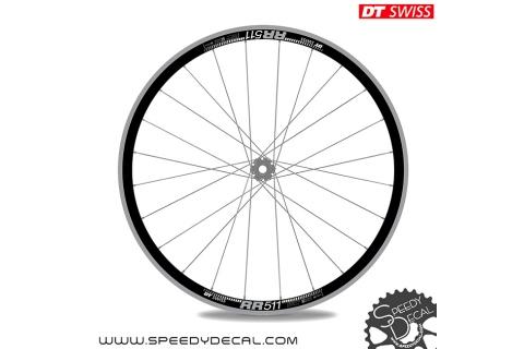 DT Swiss RR 511 - adesivi per ruote