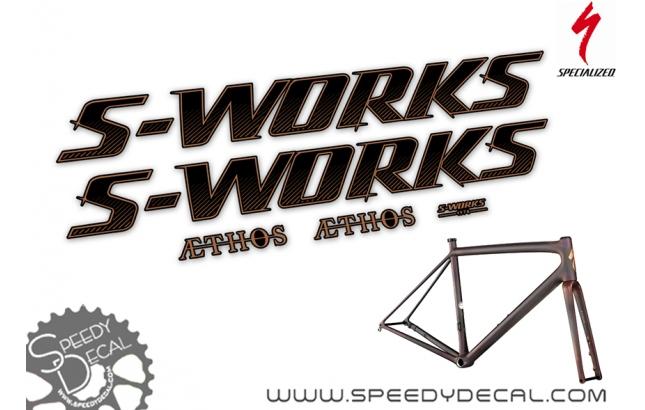 Specialized S-Works Aethos  - kit adesivi telaio