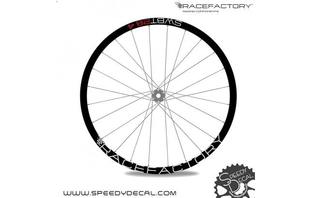 Racefactory SWBT 28.4 - adesivi per ruote