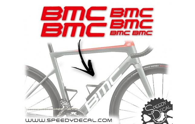 Bmc 2021-2022 - kit adesivi telaio