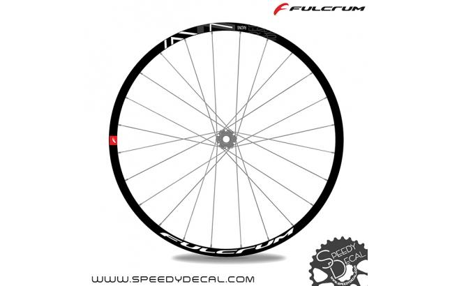 Fulcrum Racing 7 - adesivi per ruote
