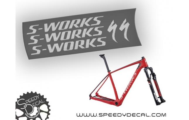 Specialized Stumpjumper S-Works 2015 - kit adesivi telaio