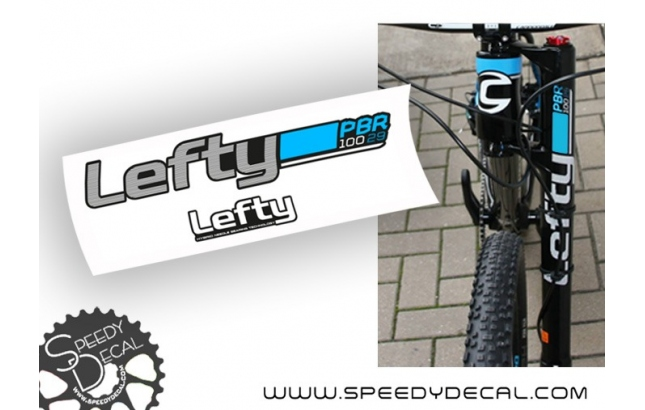 Cannondale Lefty 2.0 PBR 29er 100mm 2015 - adesivi per forcella
