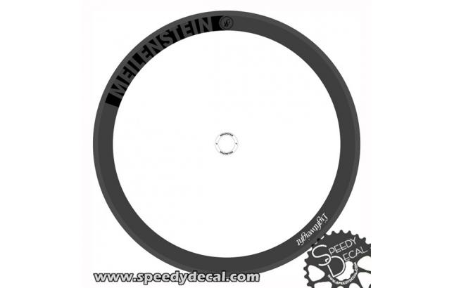 Lightweight Meilenstein Carbon adesivi personalizzati