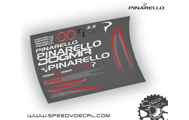 Pinarello Dogma F8 Asymmetric - kit adesivi per telaio