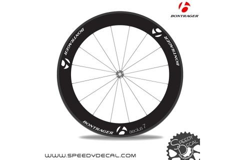 Bontrager Aeolus 9 anno 2014 - adesivi personalizzati per ruote