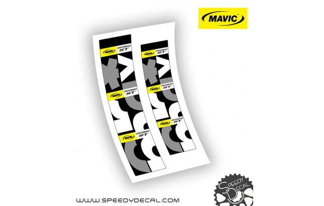 Mavic Crossmax ST 2015 - adesivi per mozzi