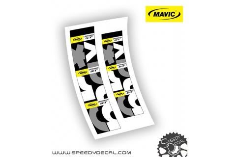 Mavic Crossmax ST 2015 - adesivi personalizzati per mozzi