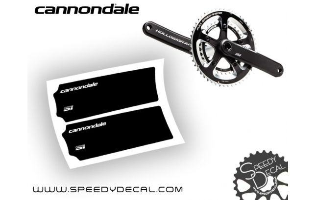 Cannondale Hollowgram SI - adesivi per pedivelle