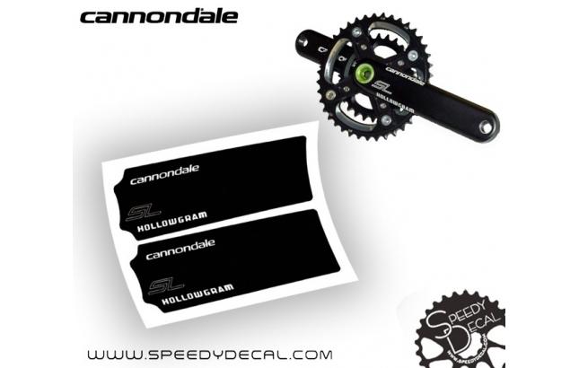 Cannondale Hollowgram SL - Pellicola protettiva per pedivelle