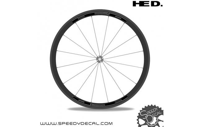 HED Stinger 3 - adesivi personalizzati per ruote strada
