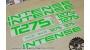Intense Tracer 275C - kit adesivi telaio