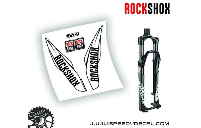 Rock shox SID / REBA 2017 - adesivi per forcella