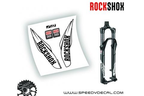 Rock shox SID 2017 - adesivi personalizzati per forcella