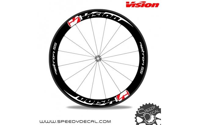 Vision Metron 55 - adesivi per ruote