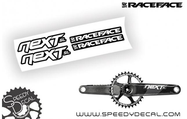 Race Face Next SL G4 - adesivi per pedivelle