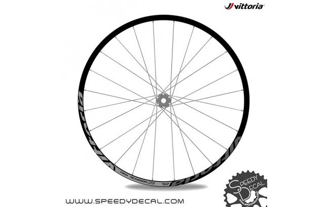 Vittoria Reaxcion 29 - adesivi personalizzati per ruote MTB