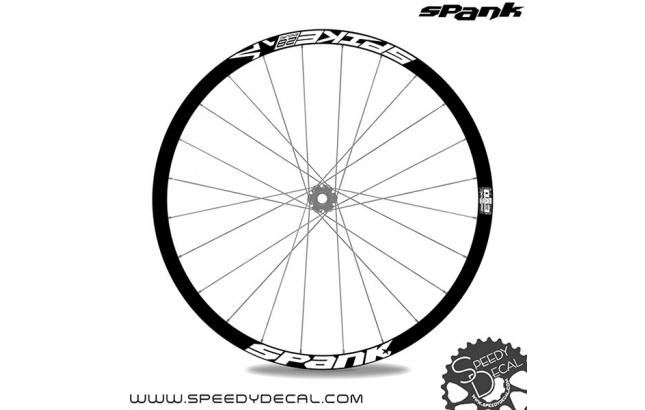 Spank Spike 28 enduro - adesivi personalizzati per cerchi mtb