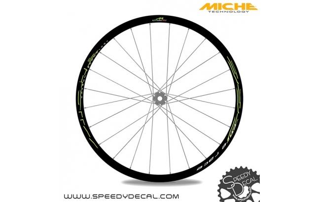 Miche 999 Pure Race - adesivi personalizzati per ruote