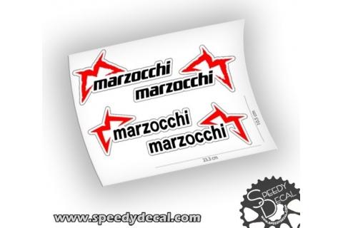 Marzocchi 350 66 888 factory racing adesivi personalizzati per forcelle