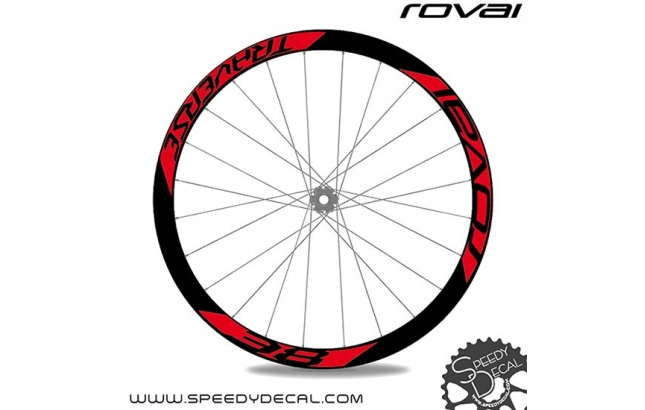 Roval Traverse 38 - adesivi per ruote