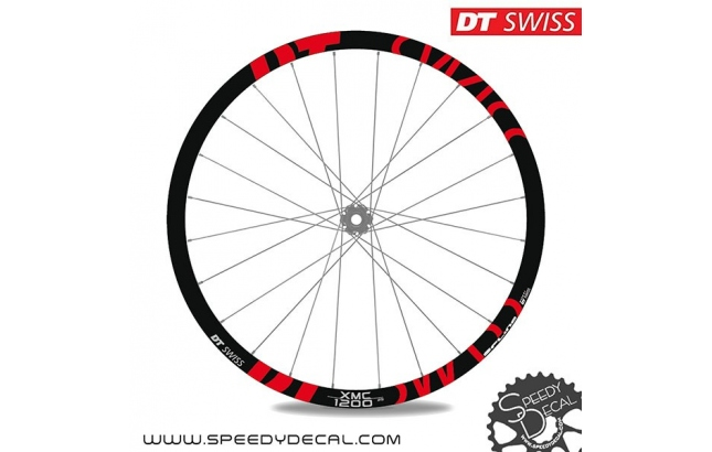DT Swiss XMC / XRC 1200 - adesivi per ruote