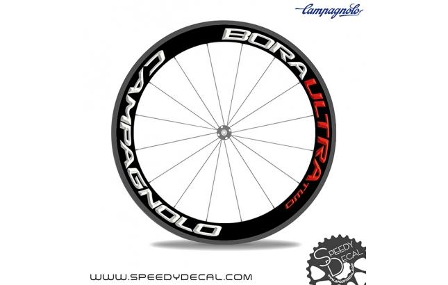 Campagnolo Bora Ultra Two 50 - adesivi per ruote