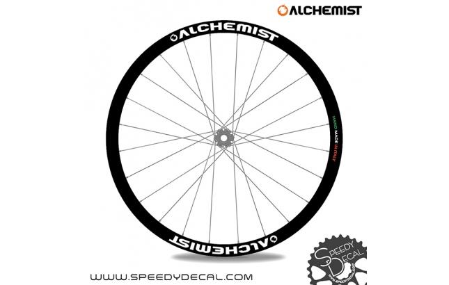 Alchemist adesivi personalizzati per ruote