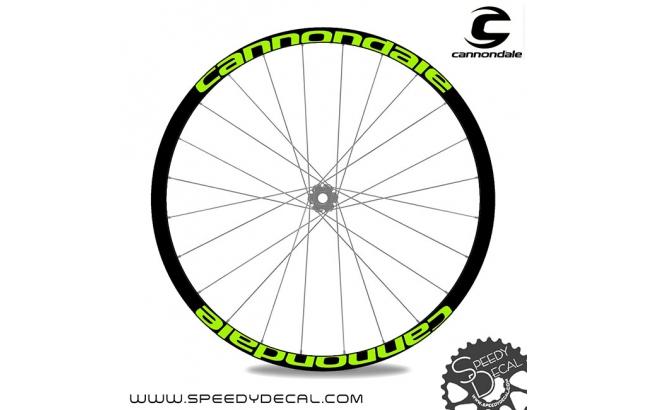 Cannondale - adesivi per ruote